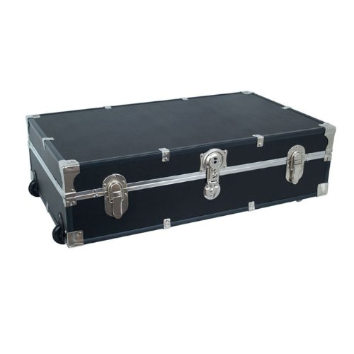 Under the Bed Storage Trunk with Wheels by Seward Trunk