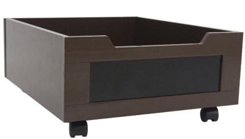 under bed storage with wheels. Black Bedroom Furniture Sets. Home Design Ideas