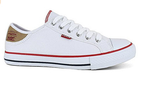 Levi's Women's Stan Buck Fashion Canvas Sneaker (White)