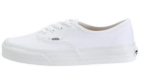 Vans Unisex Authentic Solid Canvas Skateboard Sneakers