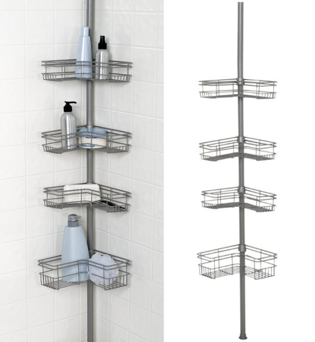floor to ceiling shower caddy foregathernet With shower caddy floor to ceiling