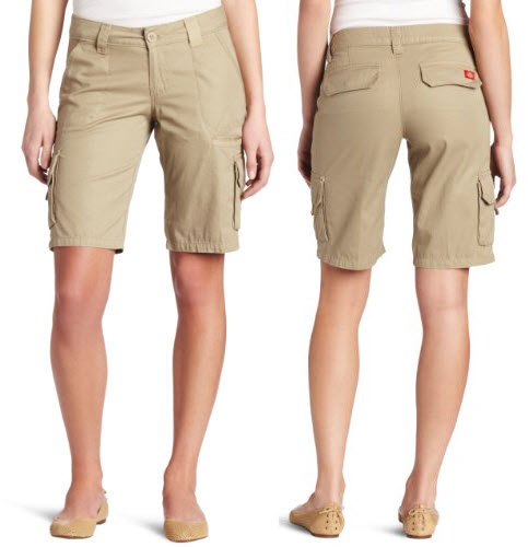 Product Features 11 inch relaxed fit cotton cargo short sports two bellowed cargo.