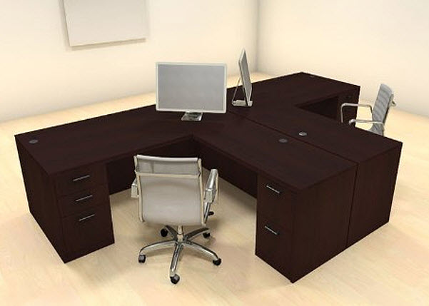 T Shaped Desk For Two People Foregather Net