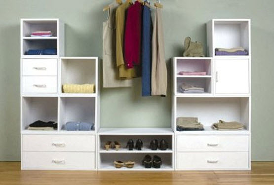 modular bedroom storage