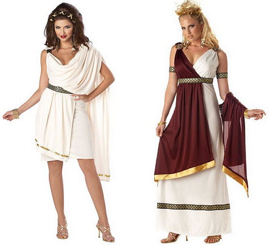 toga party costumes for women