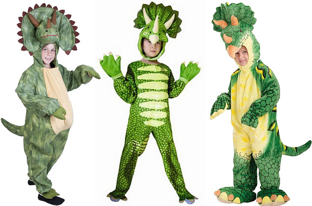 triceratops costumes for kids