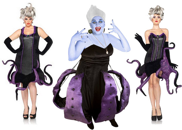 adult ursula costume left leg avenue disney plus size plusUrsula Costume Plus Size