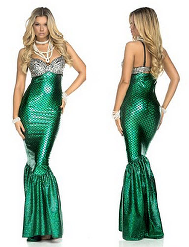 sexy mermaid halloween costume
