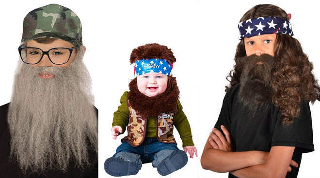kids duck dynasty costume